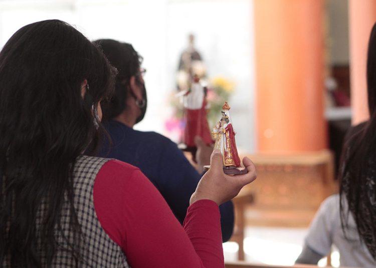 Hace un mes se desarrollan las misas con público en Chapi.