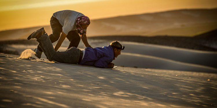 Las dunas de La Joya, un destino que poco a poco, capta el interés de los turistas (Foto: Rubén Aguilar).