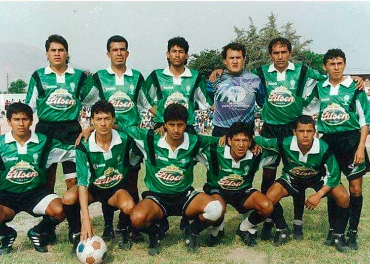 Equipo finalista de la Copa Perú de 1995. El partido se jugó en el Estadio Nacional.