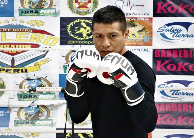 Franz Miranda, superó problemas de drogas y depresión practicando boxeo. Ahora, su objetivo es ser campeón nacional.