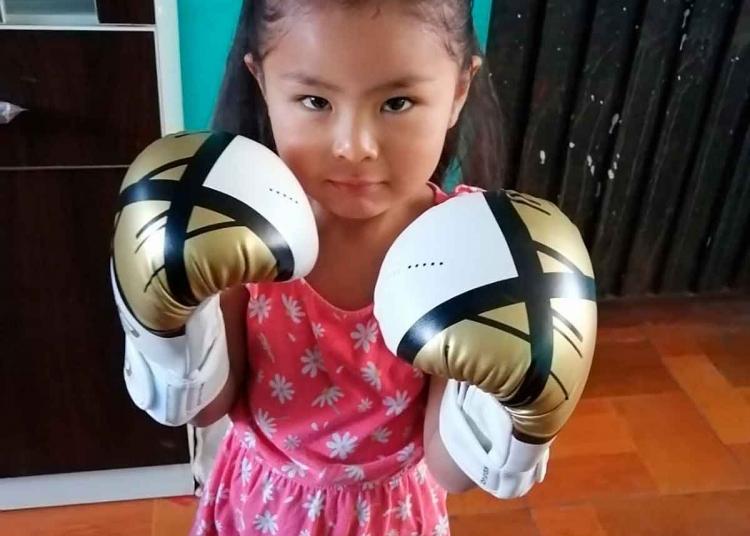 Legado. Su hija Luana, a sus 4 años, parece le seguirá los pasos.