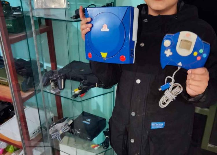 De colección. Sega Dreamcast Gundam Rx 78 es una de las consolas más preciadas.