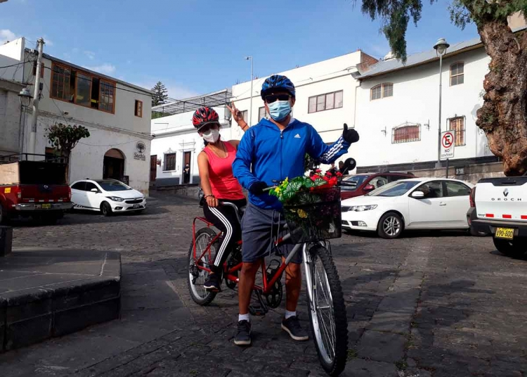 Los paseos en bicicletas son ideales para compartir un paseo en familia o con los amigos.
