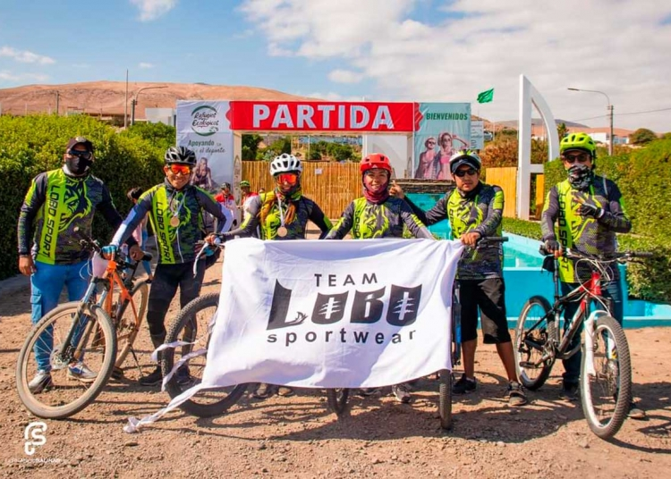 Hace un mes empezó a pedalear y ha participado en la Vuelta a Mejía 2021.