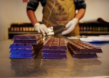 El cacao que utilizan proviene de Piura, Tingo María y Cusco.