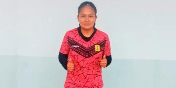 Maribel, es una de las tres arequipeñas que participan en la Liga 1.