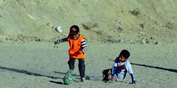Son 40 niños que practican su deporte favorito en el sector de Villa Cerrillos, un pueblo joven al margen derecho del distrito de Cerro Colorado.