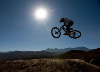 La pandemia ayudó a algunos ciclistas a mejorar sus técnicas pues tuvieron tiempo libre para practicar.