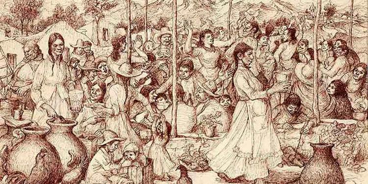 La picantería arequipeña, surgió en las tabernas de chicha que proliferaron en los arrabales de la incipiente ciudad de Arequipa a mediados del siglo XVI.