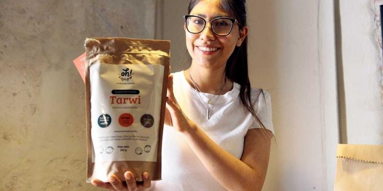 La harina de tarwi es una fuente de proteína importante que empezó a comercializar.