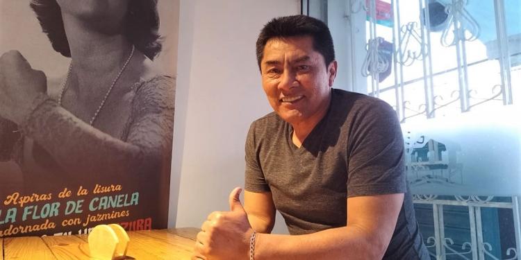 El 'Chino' Choy, ahora se dedica a su negocio de gastronomía.