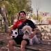 Retirado del fútbol, Rodolfo disfruta de su familia y de su mascota Chiqui, quien lo acompaña a todos lados.