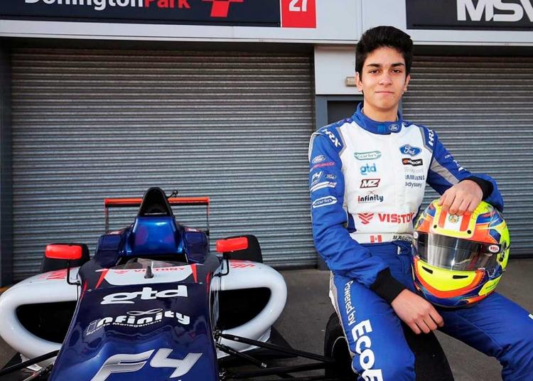 Matías Zagazeta, sueña con llegar a competir en la Fórmula 1.