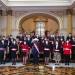 Nuevo gabinete ministerial presidido por la extitular del Congreso, Mirtha Vásquez. (Foto: Andina)