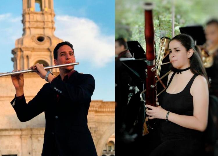 Raúl y Karlyana son dos jóvenes músicos que decidieron emprender en la repostería.