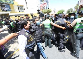 Cáceres Llica, ahora tendrá que afrontar la investigación del Ministerio Público.